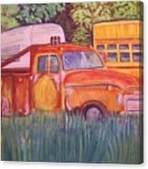 1954 Gmc Wrecker Truck Canvas Print