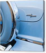 1954 Mercury Monterey Merc O Matic Spare Tire Canvas Print