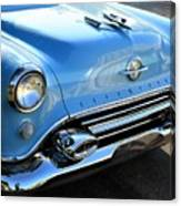 1954 Olds - Oldsmobile 88 Front View Canvas Print