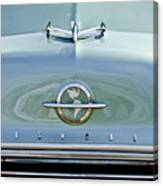 1954 Oldsmobile Super 88 Hood Ornament 3 Canvas Print