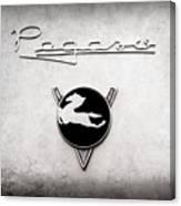 1954 Pegaso Z-102 Saoutchik Coupe Emblem -2218ac Canvas Print