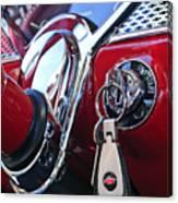 1955 Chevrolet 210 Key Ring Canvas Print