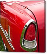 1955 Chevrolet Bel Air Tail Light Canvas Print