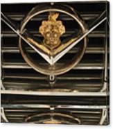 1955 Packard Hood Ornament Emblem Canvas Print