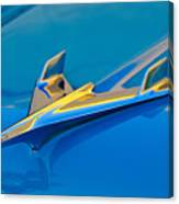 1956 Chevrolet Hood Ornament 2 Canvas Print