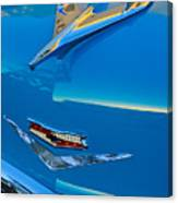 1956 Chevrolet Hood Ornament 4 Canvas Print