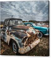 1956 Chevy Canvas Print
