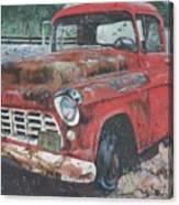 1956 Chevy Pickup Canvas Print