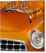 1956 Chrysler Custom 2 Door Sport Wagon Canvas Print