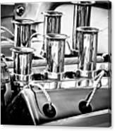 1956 Chrysler Hot Rod Engine Canvas Print