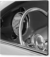 1956 Chrysler Hot Rod Steering Wheel Canvas Print