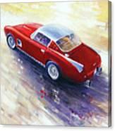 1956 Ferrari 410 Superamerica Scaglietti Series Canvas Print