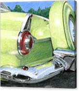 1956 Ford Thunderbird Canvas Print