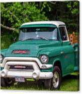 1956 Gmc Pickup Canvas Print