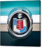 1956 Mercury Monterey Emblem Canvas Print