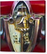 1956 Plymouth Belvedere Emblem 2 Canvas Print
