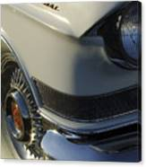 1957 Cadillac Front End Canvas Print