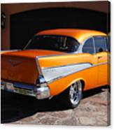 1957 Chevrolet Belair Coupe Canvas Print