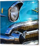 1957 Chevrolet Belair Grille Canvas Print