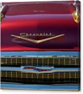 1957 Chevrolet Grille Canvas Print