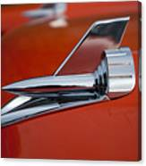 1957 Chevrolet Hood Ornament Canvas Print