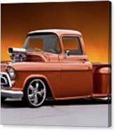 1957 Chevrolet Stepside Pickup L Canvas Print