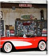 1957 Corvette Hackberry Arizona Canvas Print