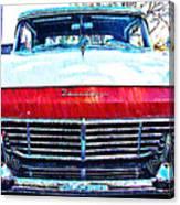 1957 Ford Fairlane Canvas Print