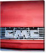 1957 Gmc Pickup Truck Grille Emblem -0329c1 Canvas Print