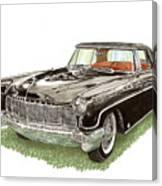 1957 Lincoln Continental Mk II Canvas Print