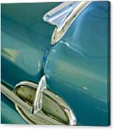 1957 Oldsmobile Hood Ornament 5 Canvas Print