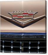 1958 Cadillac Eldorado Barritz Emblem Canvas Print