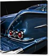 1958 Chevrolet Bel Air Impala Canvas Print