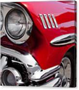 1958 Chevy Impala Canvas Print