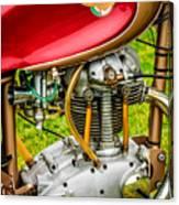 1958 Ducati 175 F3 Race Motorcycle -2119c Canvas Print
