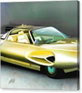 1958 Ford Automobile Canvas Print