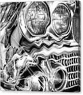 1958 Impala Beauty Within The Beast Canvas Print