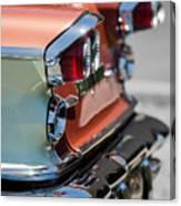 1958 Pontiac Bonneville Taillights Canvas Print