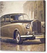 1959-62 Rolls-royce Silver Cloud II Canvas Print