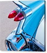 1959 Cadillac Eldorado 62 Series Taillight Canvas Print