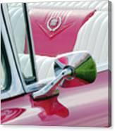 1959 Cadillac Eldorado Interior Canvas Print