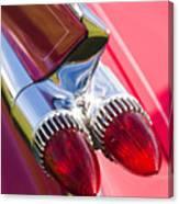 1959 Cadillac Eldorado Tail Fin 2 Canvas Print