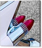 1959 Cadillac Eldorado Tail Fin Canvas Print
