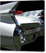 1959 Cadillac Tail Canvas Print