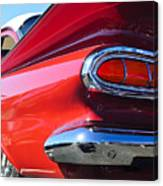 1959 Chevrolet Biscayne Taillight Canvas Print