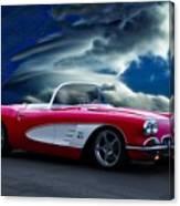 1959 Chevrolet Corvette Convertible II Canvas Print