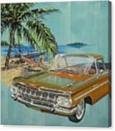 1959 Chevrolet El Camino Canvas Print
