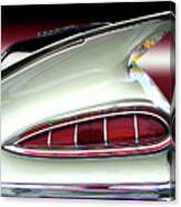 1959 Chevrolet Impala Tail Canvas Print