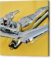1959 Nash Metropolitan Coupe Hood Ornament Canvas Print