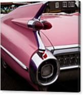 1959 Pink Cadillac Convertible Canvas Print